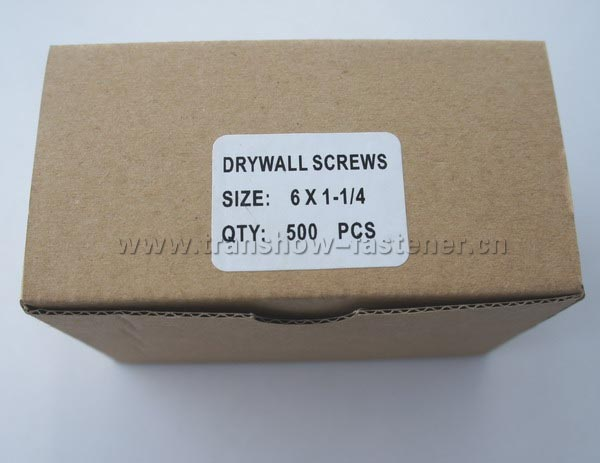 Drywall Screws Small Box Packing from Transhow Fasteners